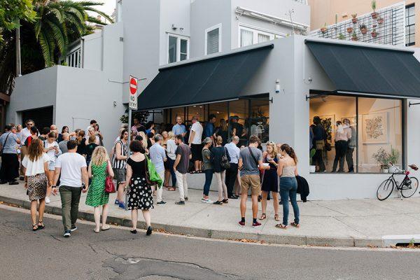 3 Art Month Sydney, Paddington and Woollahra Art at Night art trail. Photo James Ambrose