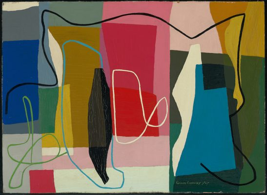 900 Grace Crowley Abstract painting 1947 National Gallery of Australia, Canberra