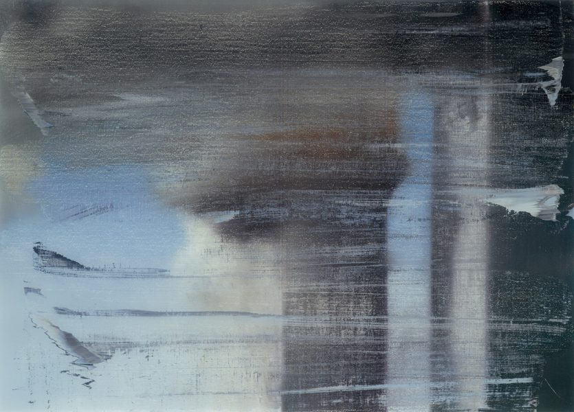 Gerhard Richter German, born 1932 September, 2009 Print between glass Overall: 26 x 35 3/8 in. (66.04 x 89.853 cm) Dallas Museum of Art, Lay Family Acquisition Fund, 2010.18.2